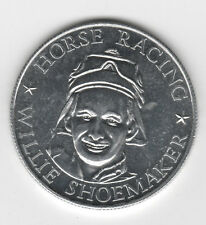1971 WILLIE SHOEMAKER Horse Racing Top Performers Coin
