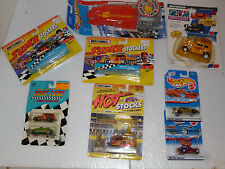 MIXED DEAL 8+1 CAR LOT VINTAGE MATCHBOX + HOTWHEELS MANY DIFFERENT CARS 1:64