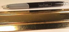 WELLS FARGO HOME MORTGAGE PAPERMATE PEN BLACK BODY CLEAR POCKET CLIP RUBBER GRIP