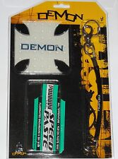 SALE - DEMON Snowboard Stomp Mat / Leash & Wax Snowboarding Starter Pack