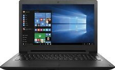 "NEW Lenovo IDEAPAD 110 Laptop 15.6"" Intel N3060 4GB/500GB Windows 10 DVD"