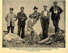 Burenkrieg * Englisches Personal eines PANZERZUGES von Buren gefangen 1900