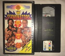 WWF - Terminators In Your House '95 (VHS, 1995) WWE WCW NWO COLISEUM VIDEO RARE