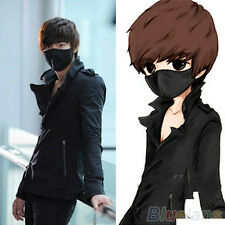 Black Unisex Mens Womens Cycling Anti-Dust Cotton Mouth Face Mask Respirator New