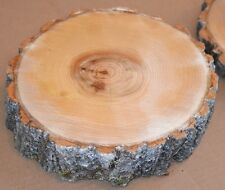 "Tree Slice Log Round Tree Slice one Aspen 5"" to 7""D x 1"" thick"
