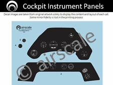 airscale Focke-Wulf Fw 190A cockpit decals - Airfix 1/24 scale  AS24 FWA