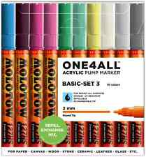 MOLOTOW ONE 4 ALL 127HS - 10 PIECE DRAWING MARKER PEN SET - BASIC SET 3