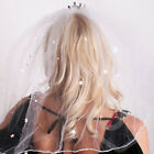 Plate Comb Veil Bride to be Pink & white Flashing Hen Party Accessories