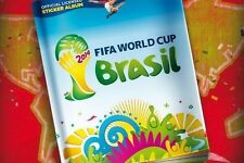 Panini Brazil 2014 Complete 643 stickers collection + Album FIFA World cup NEW
