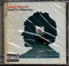 ASHCROFT RICHARD CHECK THE MEANING CD CON VIDEO DVD SEALED