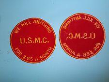 b4677 US Vietnam Novelty Patch USMC We Kill Anything