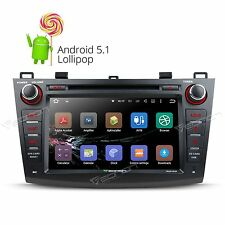 "GA6163F Android 5.1 8"" 2DIN Car DVD Player GPS CD Stereo for Mazda 3 2010-2013 M"