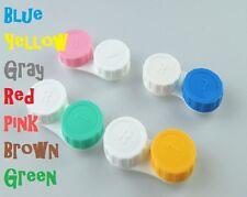 5 X Lentes De Contacto Funda Cuidado, color Doble Caja Envío Gratis