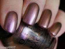 OPI Muppets KERMIT ME TO SPEAK Rosy Mauve HOLOGRAPHIC Nail Polish Lacquer .5oz
