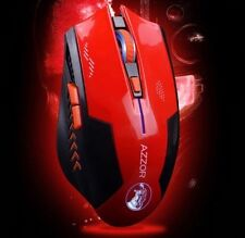 Wireless 2400DPI Optical Laser Gaming Mouse (2.4Ghz) (Red) (Brand New)