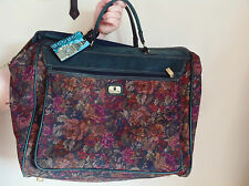 Oversized vintage tapestry embroidered weekend bag Holdall  by Skyflite