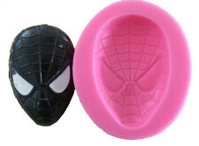 Spider Man 3D molde Fondant Silicone Mold Cake Decoration For Soap Jewelry Craft