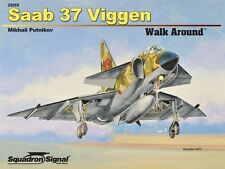 Saab 37 Viggen Fighter Walk Around (Squadron Signal 25055)