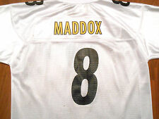 Vintage Tommy Maddox #8 Pittsburgh Steelers Jersey by Reebok, Adult XL, NICE!!