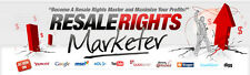 Resale Rights Marketer Tutorial Videos on 1 CD