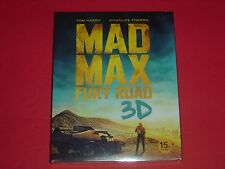 Mad Max Fury Road Tom Hardy Blu-Ray 2D/3D O-Ring Gorgeous Combo Case Sold out