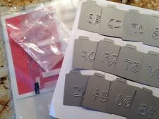 Quickutz Sunshine Alphabet * New In General Packaging. 2x2 Dies* Retired*