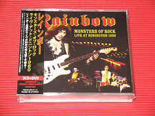 RAINBOW Monsters Of Rock Live At Donington 1980 JAPAN 2 CD + DVD SET