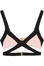 AGENT PROVOCATEUR Mazzy Bikini Sujetador Rosa/Negro Talla Xlarge/5/14-16 BNWT