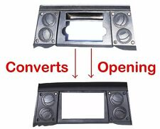 2006-07 Jeep Commander Radio Double Din Dash Kit Bezel w/Steering Wheel Control