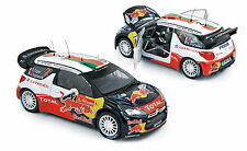 CITROEN DS3 WRC #2 WINNER RALLY PORTUGAL 2011 OGIER INGRASSIA NOREV 181556 1/18