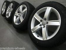 17 Zoll Winterräder original Audi A4 S4 B8 8K Winterreifen 8K0071497 AO 7,5-8,0