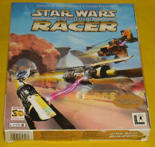 STAR WARS EPISODIO I RACER 1 Pc Versione Italiana 1ª Ediz Big Box »»»»» COMPLETO