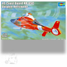 TRUMPETER 1/35 HH-65C DOLPHIN HELICOPTER COAST GUARD COLORS ADVANCED MODELER KIT