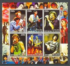 (011571) Rolling Stones, Popstars, Benin - Private issue -