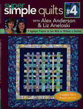 Super Simple Quilts Irresistibly Easy Applique Varied Size Quilting Pattern Book