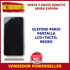 PANTALLA ULEFONE PARIS LCD + TOUCH NEGRO TOUCH SCREEN BLACK