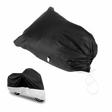 Outdoor Motorcycle Vented Motor Bike Scooter Dust Rain Cover Large L Waterproof