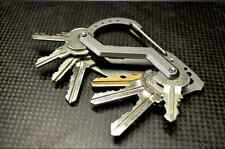 Stainless Steel Carabiner KeyChain Clip Hook Buckle Snap For Tent Backpacks