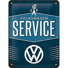 Volkswagen Service metal sign   200mm x 150mm   (na)