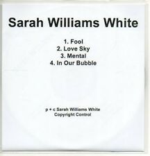 (AC571) Sarah Williams White, Fool - DJ CD