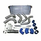 CX Front Mount FMIC Intercooler kit For 89-91 Dodge Ram Cummins 5.9L Diesel Blue
