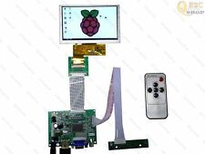 "5"" HSD050IDW1 800*480 LCD and HDMI VGA 2AV Controller  LCD kit For Raspberry Pi"