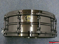 "Ludwig Black Magic Steel Snaredrum 14x5,5""   -   Modell: LW5514"