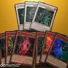 Psy-Frame Core 30 Card Deck - Framegear Gamma, Zeta, Circuit, Overload + more