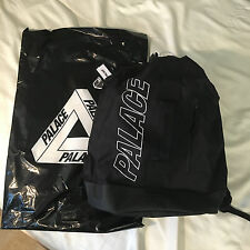 Palace Skateboard SS16 Barrel Bag Backpack Duffle Black Supreme Box Logo