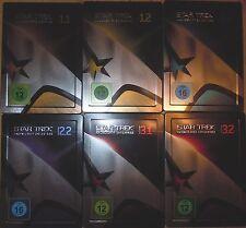 Star Trek Raumschiff Enterprise Season 1.1-3.2  6 Steelbooks Deutsche Ausgaben