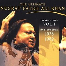 The Ultimate Nusrat Fateh Ali Khan: Vol. 1 - The Early Years by