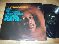 "1966 NEW Les McCann Plays The Hits 12"" LP SEALED MINT vinyl Stereo LS 86041 Lime"
