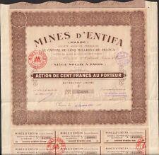 Mines d'ENTIFA (MAROC) (T)
