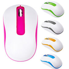 2.4G 1600DPI Optical Mini 5 Colors Wireless USB Gaming Mouse Mice For Laptop PC